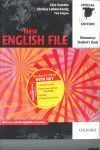 PACK NEW ENGLISH FILE ELEMENTARY LIBRO+WB CDS