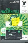 PACK NEW ENGLISH FILE INTERMEDIATE LIBRO+WB W/K