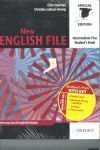 PACK NEW ENGLISH FILE INTERM PLUS W/K
