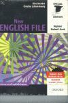 PACK NEW ENGLISH FILE BEGINNER SB-WB 09