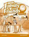 FAMILY & FRIENDS 4 ACTIVITY BOOK 2ª EDICION