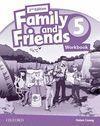 (III) FAMILY & FRIENDS 5: ACTIVITY BOOK 2ª EDICION