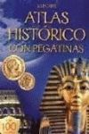 HISTORIA MUNDO ATLAS PEGATINAS