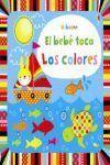 EL BEBE TOCA LOS COLORES
