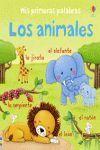 MIS PRIMERAS PALABRAS LOS ANIMALES