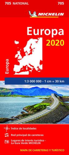 MAPA NATIONAL EUROPA 2020