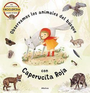 ANIMALES DEL BOSQUE CON CAPERUCITA