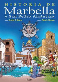 COMIC HISTORIA DE MARBELLA Y SAN PEDRO ALCANTARA