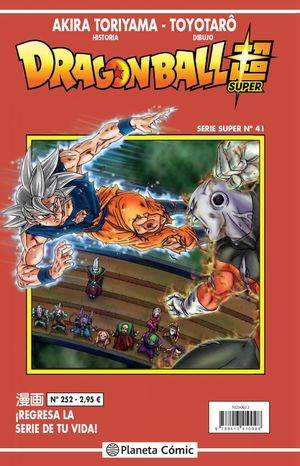 DRAGON BALL SERIE ROJA Nº252
