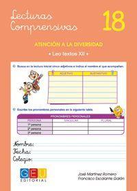 LECTURAS COMPRENSIVAS 18