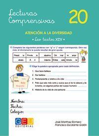 LECTURAS COMPRENSIVAS 20