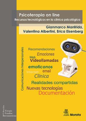 PSICOTERAPIA ON LINE RECURSOS TECNOLOGICOS