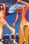 PSICOPATOLOGIA DE LA VIDA COTIDIANA BA0633