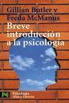 BREVE INTRODUCCION A LA PSICOLOGIA CS