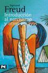 INTRODUCCION AL NARCISISMO Y OTROS ENSAYOS  -BA0648