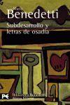 SUBDESARROLLO Y LETRAS DE OSADIA BA80