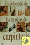 ENCICLOPEDIA DE LAS TECNICAS DE CARPINTERIA