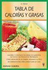 TABLA DE CALORIAS Y GRASAS