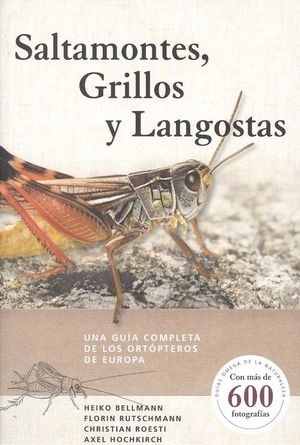 SALTAMONTES GRILLOS Y LANGOSTAS