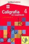 CALIGRAFÍA 4 CUADRÍCULA