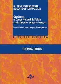OPOSICIONES AL CUERPO NACIONAL DE POLICÍA, ESCALA EJECUTIVA CATEGORÍA INSPECTOR
