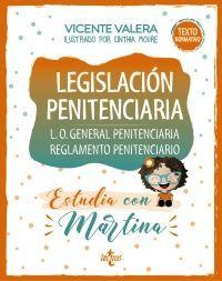 LEGISLACIÓN PENITENCIARIA. ESTUDIA CON MARTINA