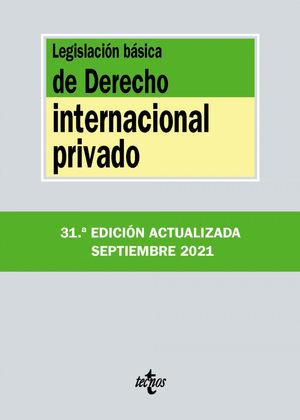 LEGISLACION BASICA DE DERECHO INTERNACIONAL PRIVADO