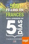 500 FRASES EN FRANCES PARA APRENDER EN 5 DIAS
