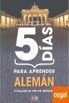 5 DIAS PARA APRENDER ALEMAN