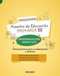 OPOSICIONES A MAESTRO DE EDUCACIÓN PRIMARIA III
