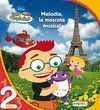 LITTLE EINSTEINS. MELODIA, LA MASCOTA MUSICAL