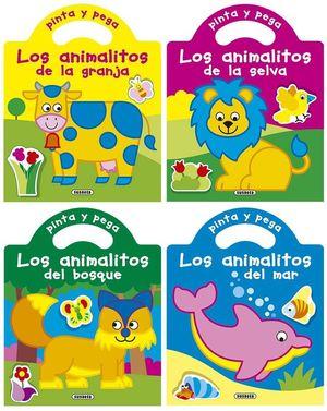 PINTA Y PEGA LOS ANIMALITOS