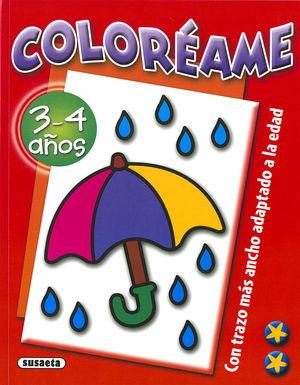 COLORÉAME 3-4 AÑOS
