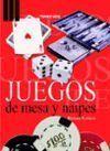 JUEGOS DE MESA Y NAIPES
