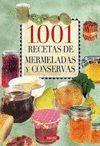 1001 RECETAS DE MERMELADAS Y CONSERVAS