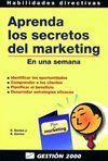 APRENDA LOS SECRETOS DEL MARKETING