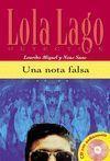 UNA NOTA FALSA+CD  -NIVEL1