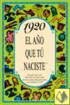 1920 EL AÑO QUE TU NACISTE -A5GRAPAS