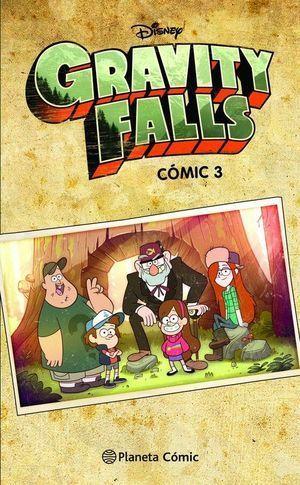3.GRAVITY FALLS.(COMIC)
