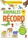 SUPERPEGATINAS. ANIMALES DE RECORD