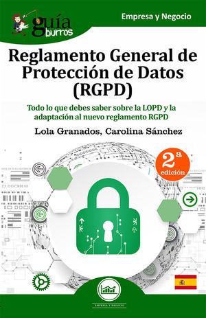 REGLAMENTO GENERAL DE PROTECCION DE DATOS (RGPD)