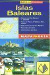 ISLAS BALEARES MAPA GUIA