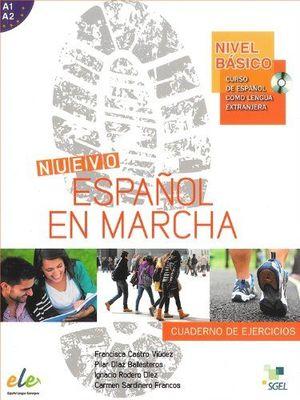 NUEVO ESPAÑOL EN MARCHA BASICO EJERCICIOS + CD