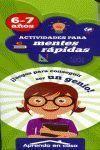 APRENDO EN CASA ACTIVIDADES PARA MENTES RAPIDAS 6-7