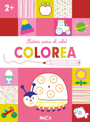 LISTOS PARA EL COLE COLOREA +2