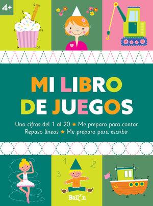 MI LIBRO DE JUEGOS +4
